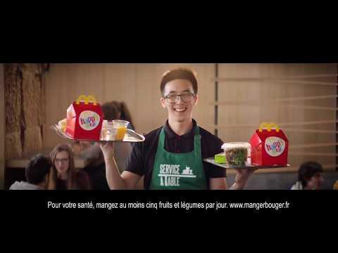 Embedded thumbnail for Le Service à Table chez McDonald's